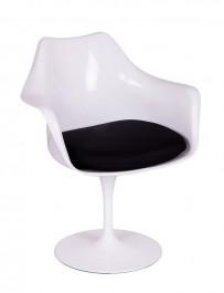 Obrotowy fotel Tulip Arm z podłokietnikami