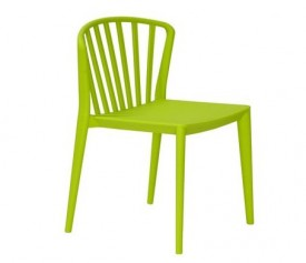 Nowoczesne krzesło z tworzywa Gamma
