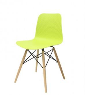 Krzesło na drewnianych nogach do jadalni Krado DSW Premium