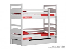Łóżko piętrowe małe Easy - Basic