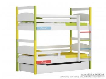 Łóżko piętrowe małe Easy - Design