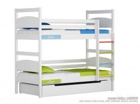 Łóżko piętrowe małe Easy - Ladder