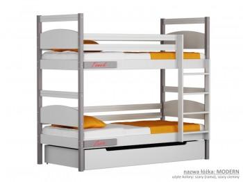 Łóżko piętrowe małe Easy - Modern