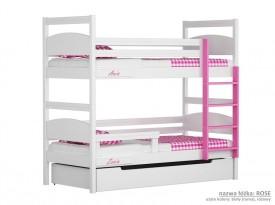 Łóżko piętrowe małe Easy - Rose