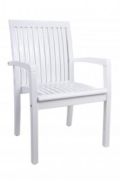 Fotel ogrodowy biały Torino