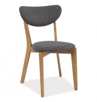 Stylowe drewniane krzesło Andre