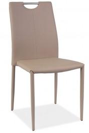Krzesło z ekoskóry z uchwytem H322