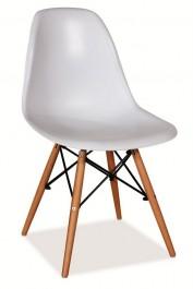 Krzesło na drewnianych nogach Enzo