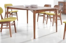Nierozkładany stół w kolorze orzech Impressio