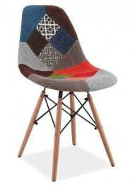Krzesło patchwork Simon A