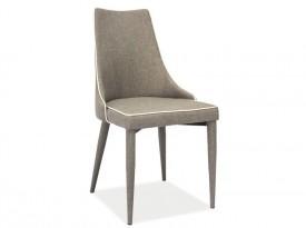 Krzesło Soren w całości tapicerowane tkaniną