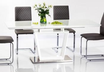 Biały rozkładany stół Lauren