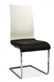 Krzesło na płozach H791 białe