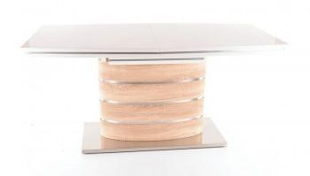 Rozkładany stół na jednej nodze Fano dąb sonoma