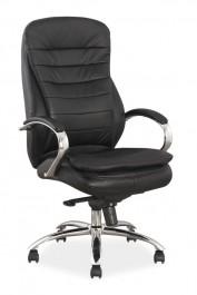 Fotel obrotowy ze skóry naturalnej Q-154 SKÓRA