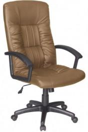 Fotel obrotowy ze sztucznej skóry Q-015