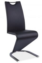 Krzesło z uchwytem na płozach H090 stal