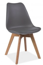 Krzesło z poduszką Kris