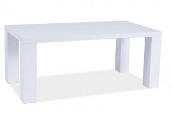Biała lakierowana ława Montego C 60x120