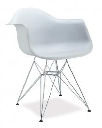 Krzesło z podłokietnikami Megan