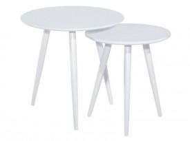 Zestaw dwóch okrągłych stolików Cleo