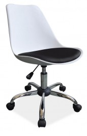 Krzesło biurowe z tworzywa Q-777