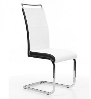 Krzesło z uchwytem na płozach H441 ekoskóra
