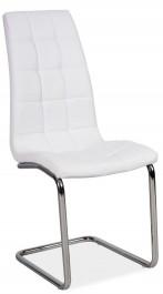 Pikowane krzesło z ekoskóry H103
