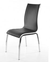 Czarno-białe krzesło H135