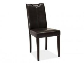 Krzesło z ekoskóry z uchwytem CD-76