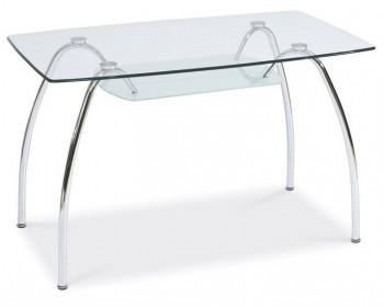 Szklany stół z półką Arachne I