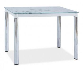 Stół z blatem szklanym Damar II