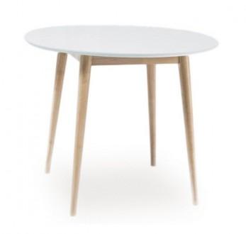 Stół z okrągłym blatem Larson