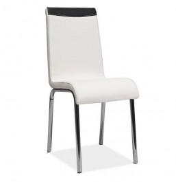 Krzesło z chromowanym stelażem H161