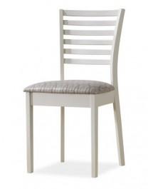 Drewniane krzesło w kolorze ecru MA-SC