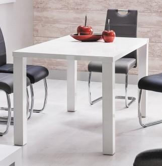 Biały stół lakierowany Montego 80/60