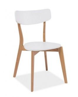 Krzesło z dębowym stelażem Mosso