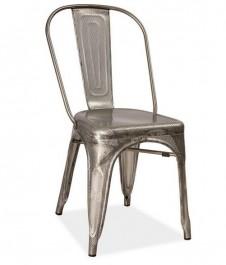 Krzesło ze stali perforowanej Loft