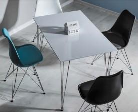 Stół z białym blatem Paulo