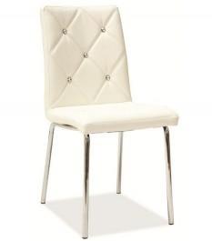 Krzesło z pikowanym oparciem H500