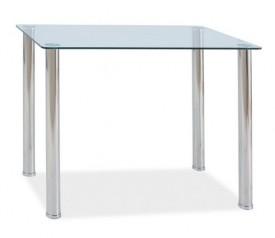 Stół ze szklanym blatem Ted
