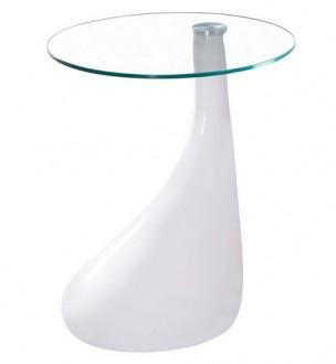 Stolik z blatem szklanym Lula