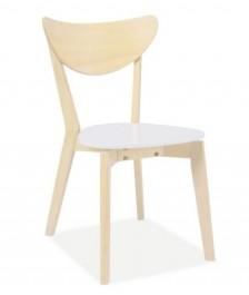 Krzesło z białym siedziskiem CD-19