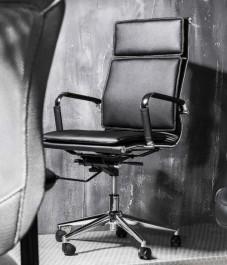 Fotel biurowy z ekoskóry Q-253