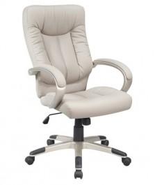 Szary fotel gabinetowy Q-066