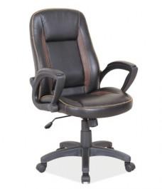 Fotel gabinetowy z ekoskóry Q-810