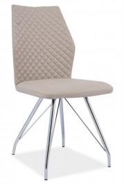 Krzesło H604 z pikowanym oparciem