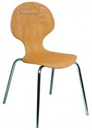 Krzesło sklejkowe Amadeo Wood