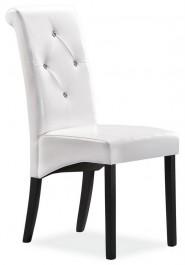 Krzesło z ozdobnymi guzikami na oparciu C-121