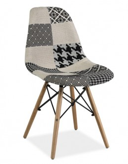 Krzesło patchwork Simon B